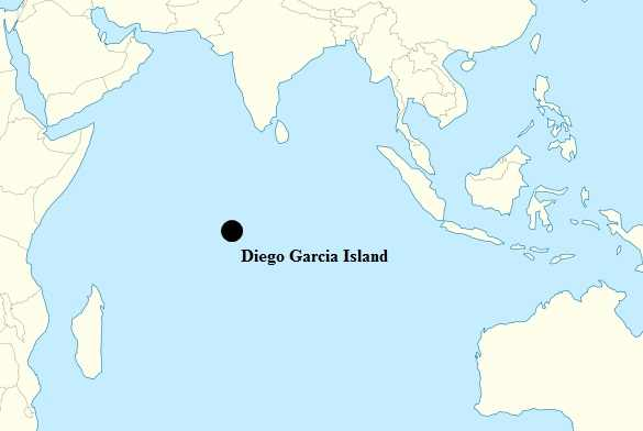 Diego Garcia island is part of the British Indian Ocean Territory