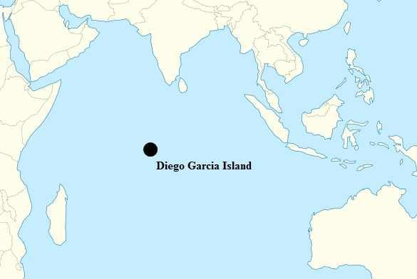 Diego Garcia island is part of the British Indian Ocean Territory